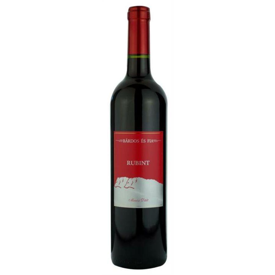 Bárdos Mártai Rubint (Cabernet Franc & Merlot) 2016 (0,75l)