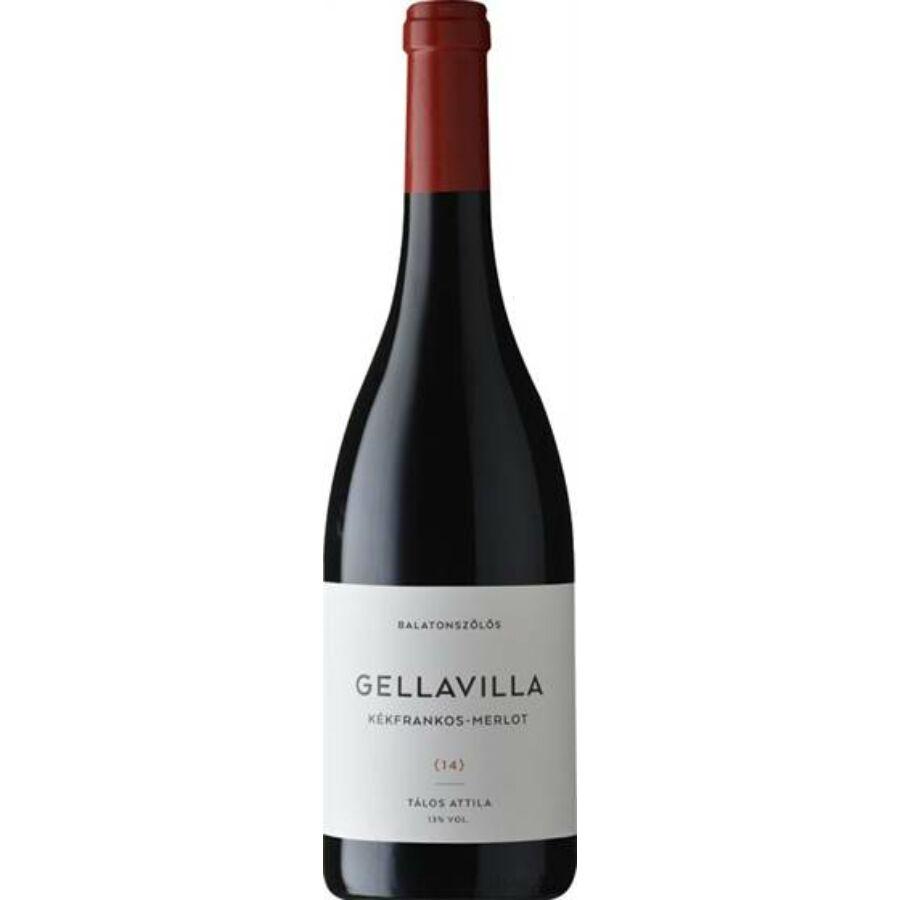 Gellavilla Kékfrankos - Merlot 2014 (0,75l)
