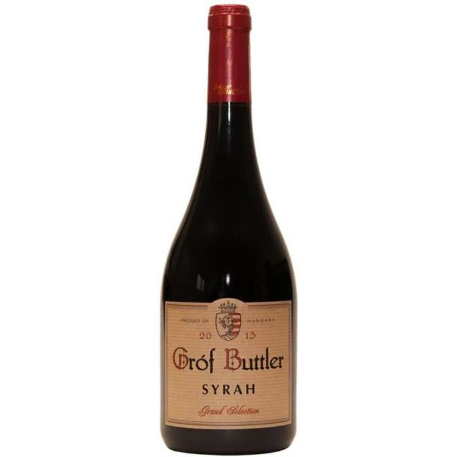 Gróf Buttler Syrah Grand Selection 2013 (0,75l)