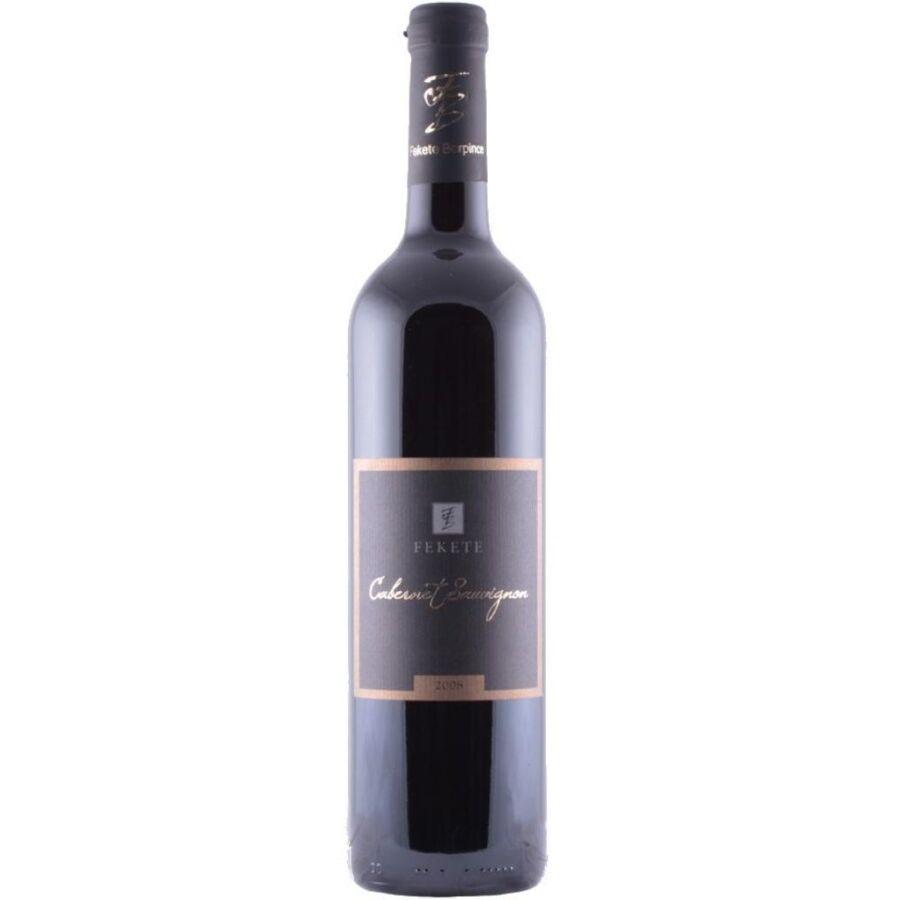 Fekete Borpince Cabernet Sauvignon válogatás 2012 (0,75l)