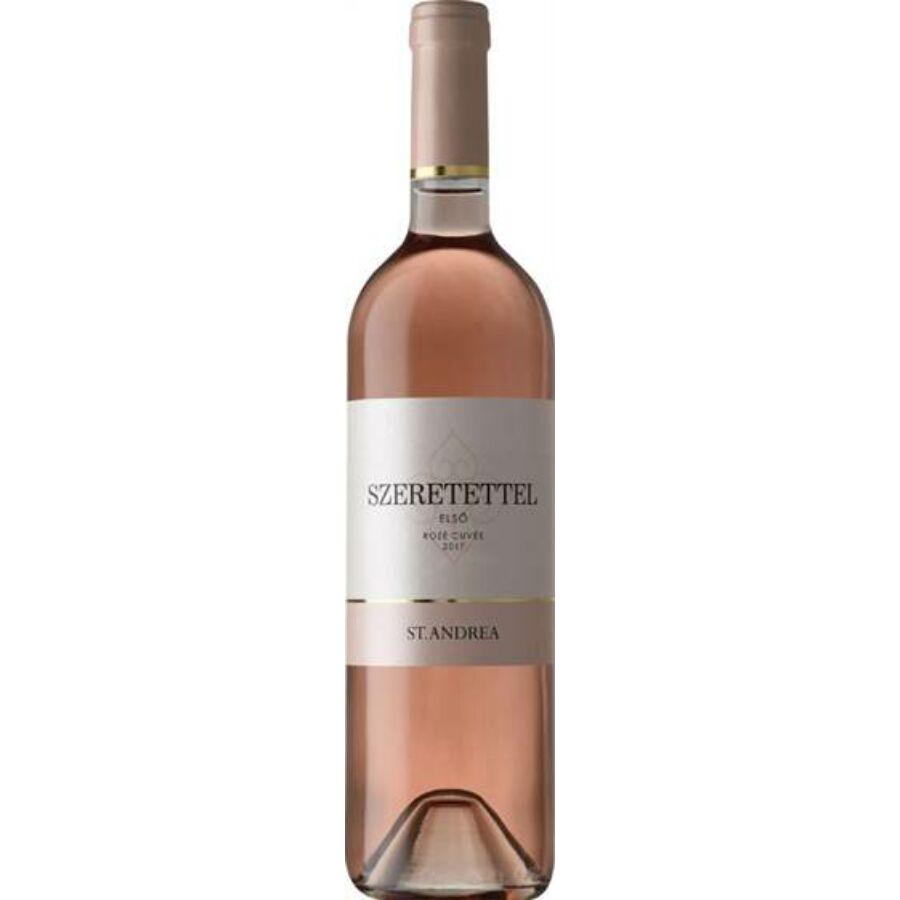 St. Andrea Szeretettel Rosé Cuvée 2017 (0,75l)