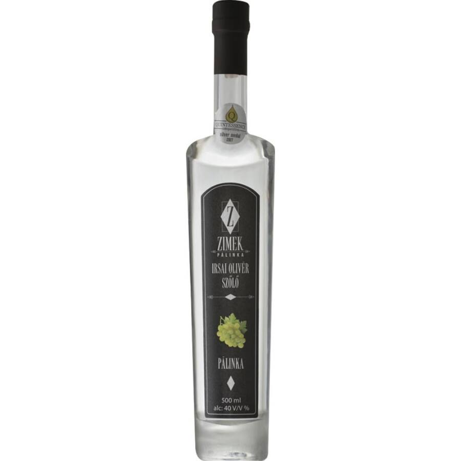 Zimek Irsai Olivér Szőlő Pálinka (0,5 l)