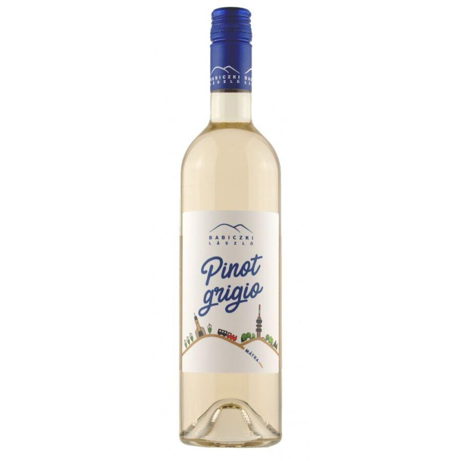 Babiczki Pinot Grigio (félszáraz) 2017 (0,75l)