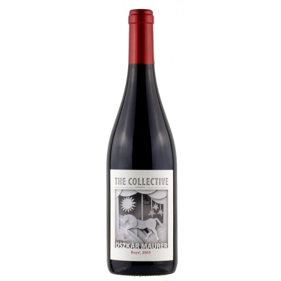 Maurer Oszkár The Collective BOYS vörös 2015 (0,75l)