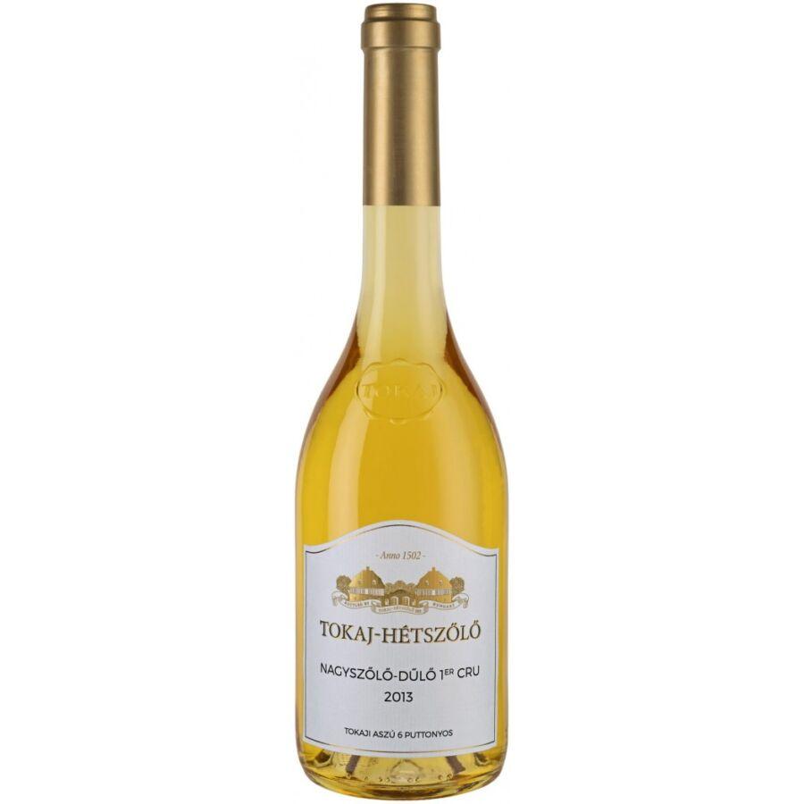 Tokaj-Hétszőlő 6 puttonyos Aszú Nagyszőlő-dűlő 2013 (0,5l)