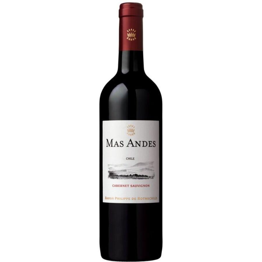 Mas Andes Cabernet Sauvignon 2017 (0,75l)