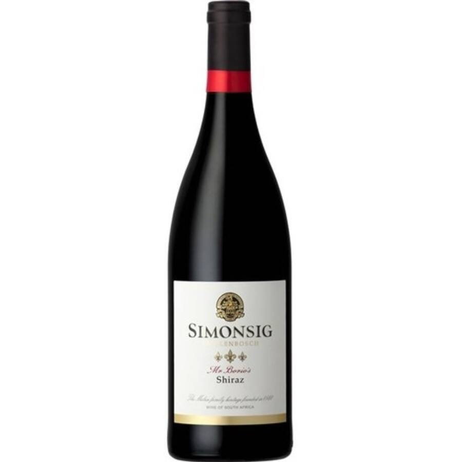 Simonsig Mr. Borio's Shiraz 2014 (0,75l)