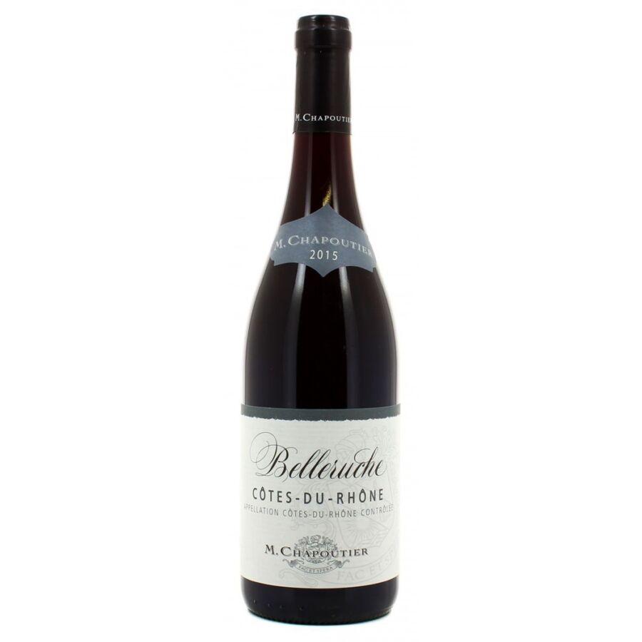 M.Chapoutier Belleruche Rouge Cotes du Rhone 2017 (0,75l)