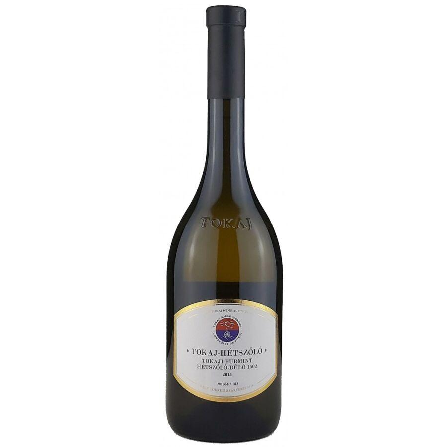 Tokaj-Hétszőlő Hétszőlő-dűlő Furmint 2015 (0,75l)