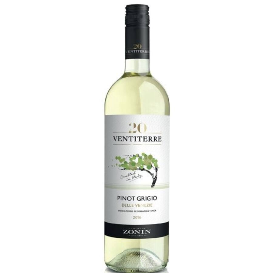 Zonin Ventiterre Pinot Grigio 2018 (0,75l)