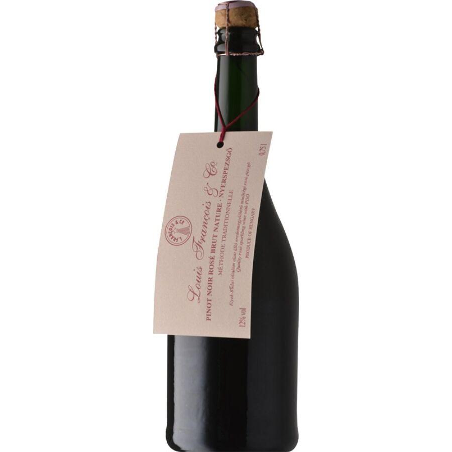 Törley Francois President Pinot Noir Rosé Nyerspezsgő 2015 (0,75l)