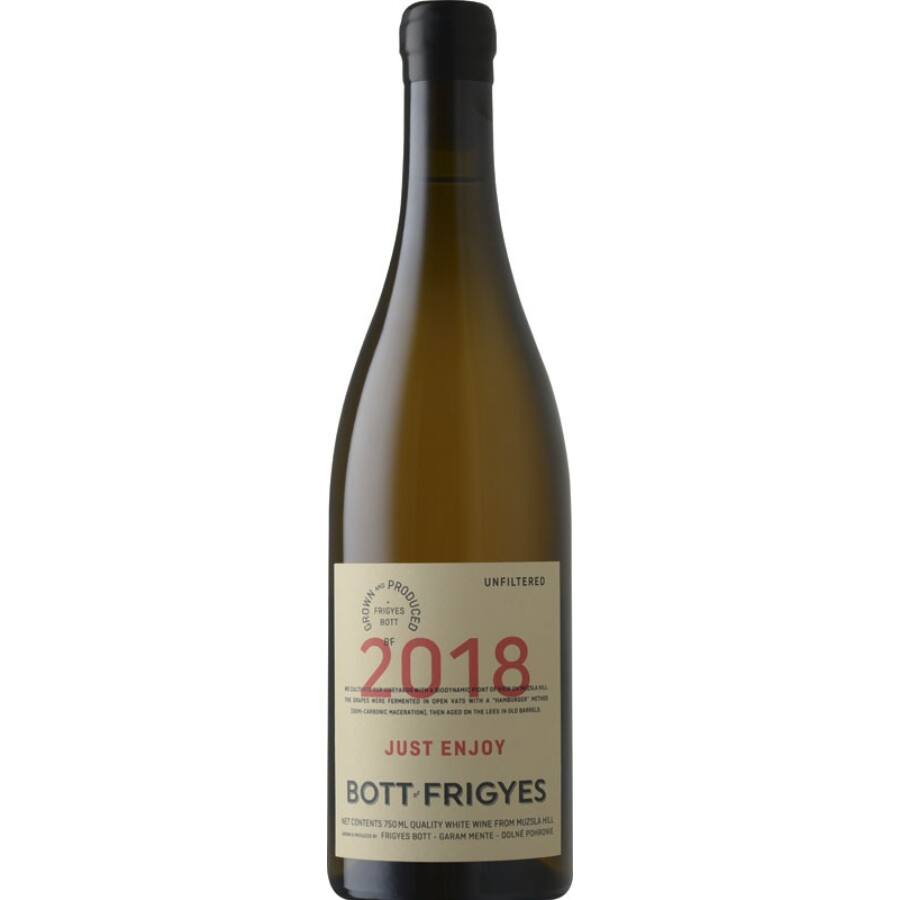 Bott Frigyes Just Enjoy Tramini 2018 (0,75l)