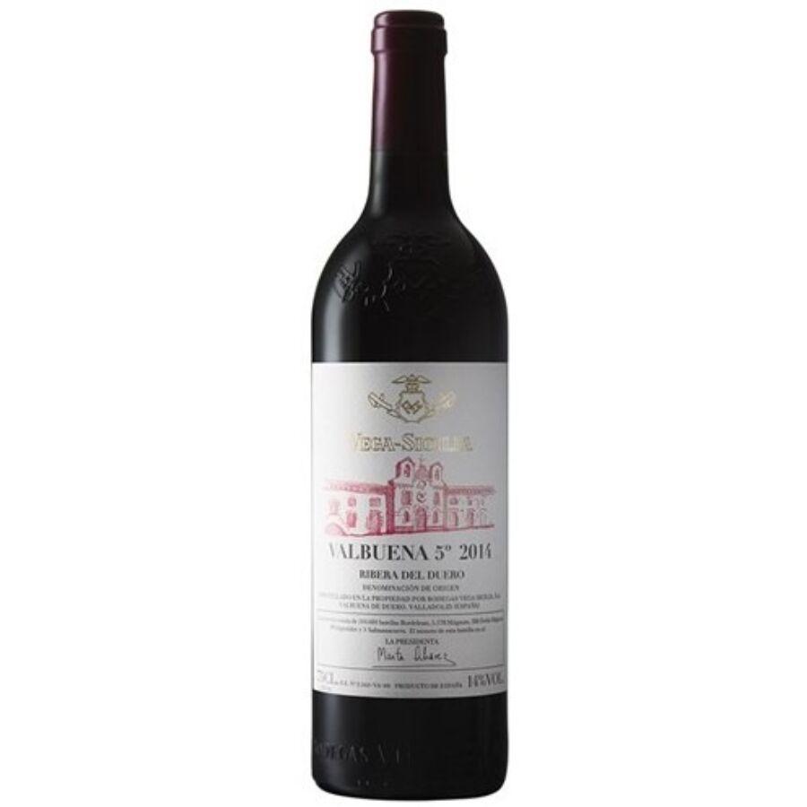 Vega Sicilia Valbuena 2014 (0,75l)