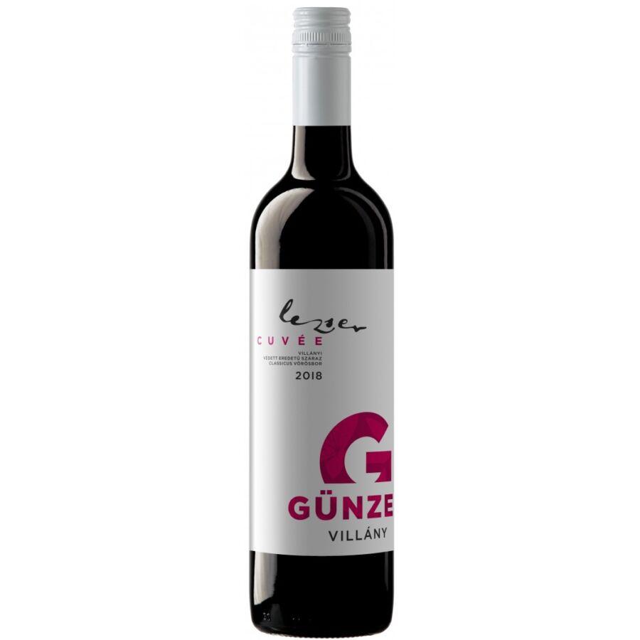 Günzer Lezser Vörös 2018 (0,75l)