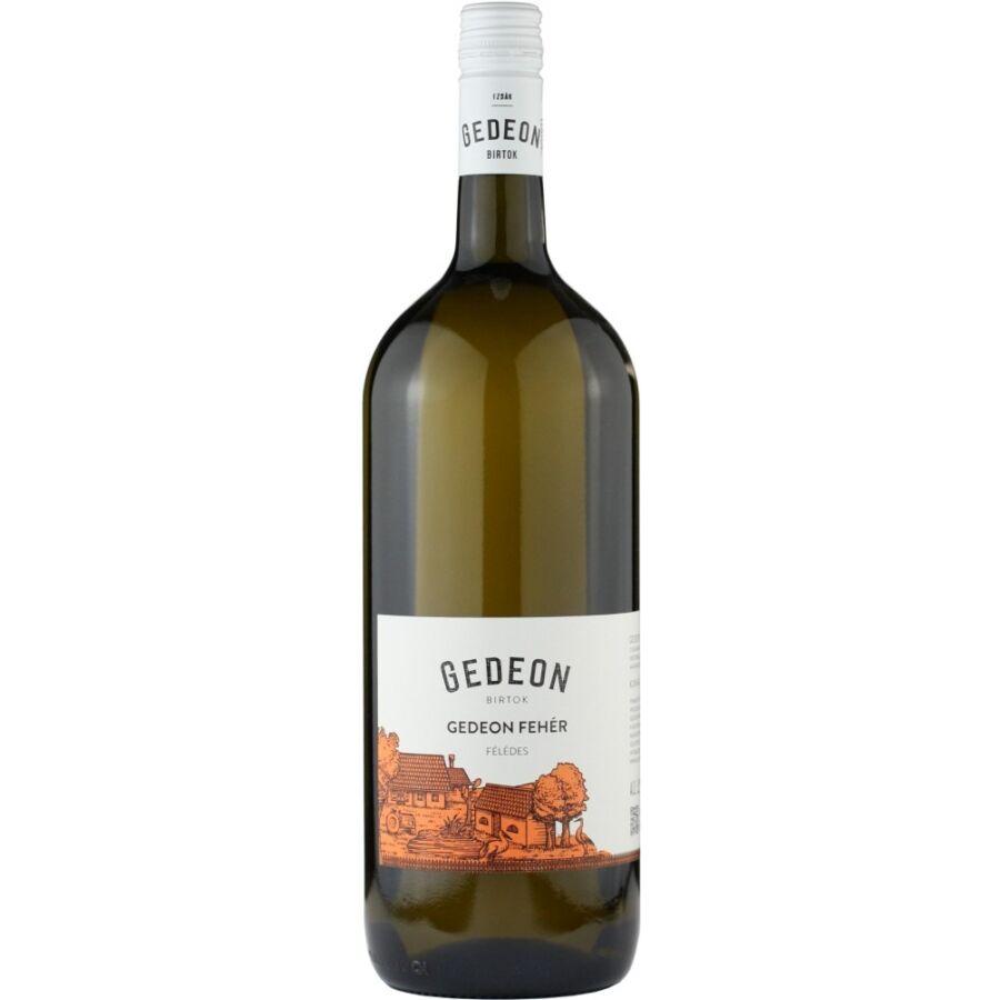 Gedeon Fehér Cuvée (félédes) (1,5l) (1,5l)