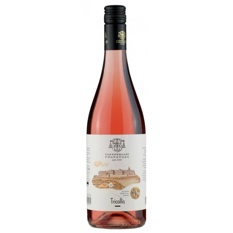 Pannonhalmi Tricollis Rosé 2019 (0,75l)