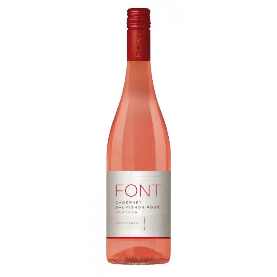 Font Pincészet Cabernet Sauvignon Rosé Selection 2019 (0,75l)