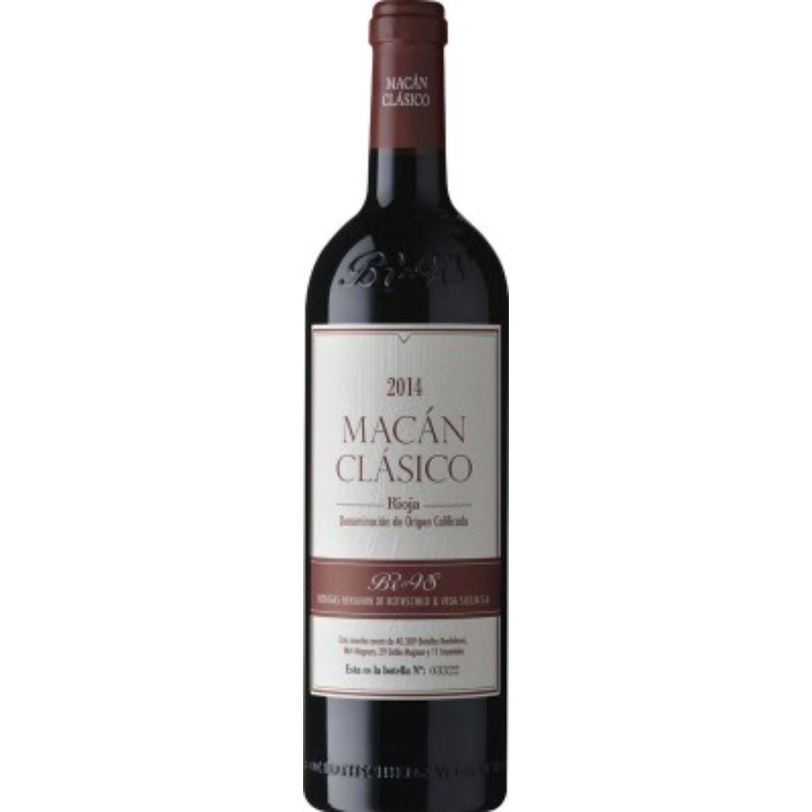 Bodegas Benjamin de Rothschild & Vega Sicilia Macan Classico 2015 (0,75l)