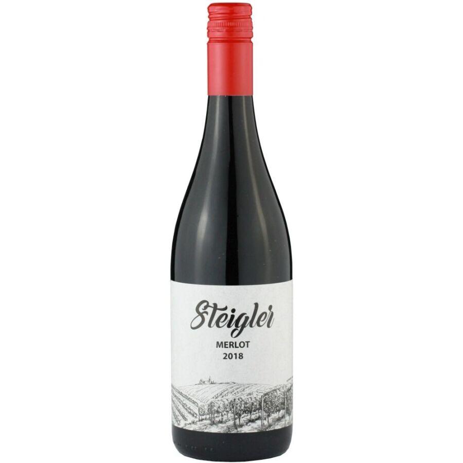 Steigler Merlot 2018 (0,75l)