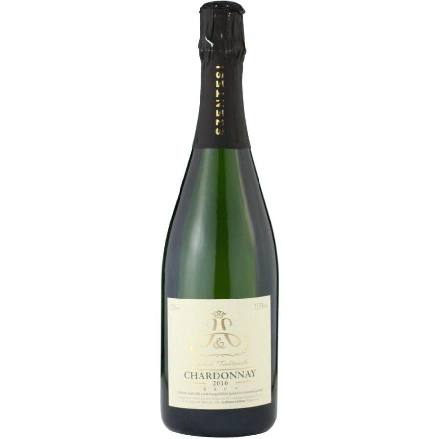 Szentesi Chardonnay Brut Pezsgő 2016 (0,75l)