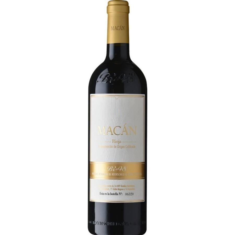 Bodegas Benjamin de Rothschild & Vega Sicilia Macan 2015 (0,75l)