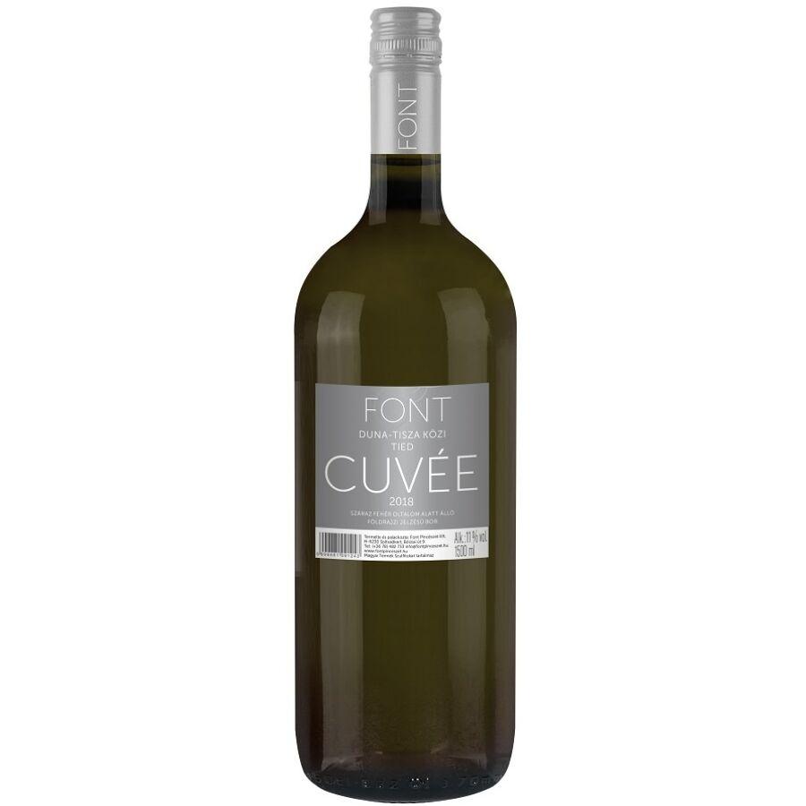 Font Pincészet Tied Cuvée (fehér) (1,5 l) 2019 (1,5l)