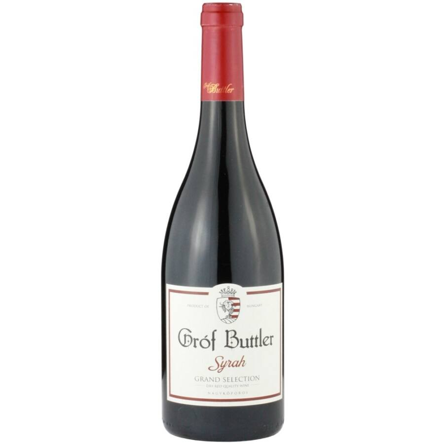 Gróf Buttler Syrah Grand Selection 2016 (0,75l)