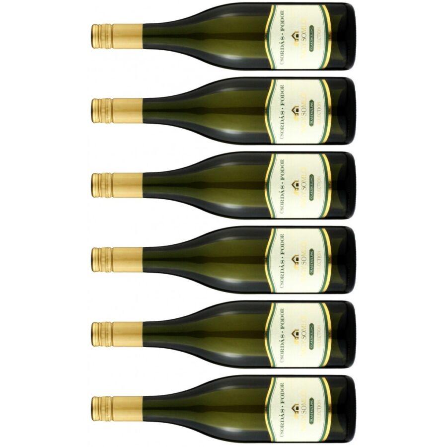 Csordás-Fodor Somlói Olaszrizling Selection (4 + 2 palack ajándék) 2019 (4,5l)