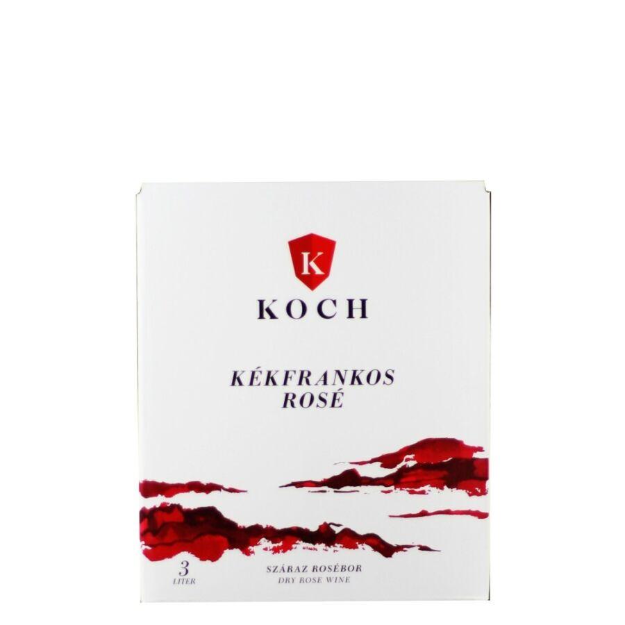 Koch Kékfrankos Rosé 3l BIB 2020 (3l)