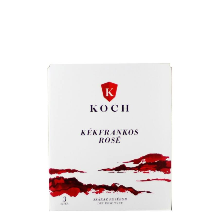 Koch Kékfrankos Rosé 2020 (3l Bag-in-Box)