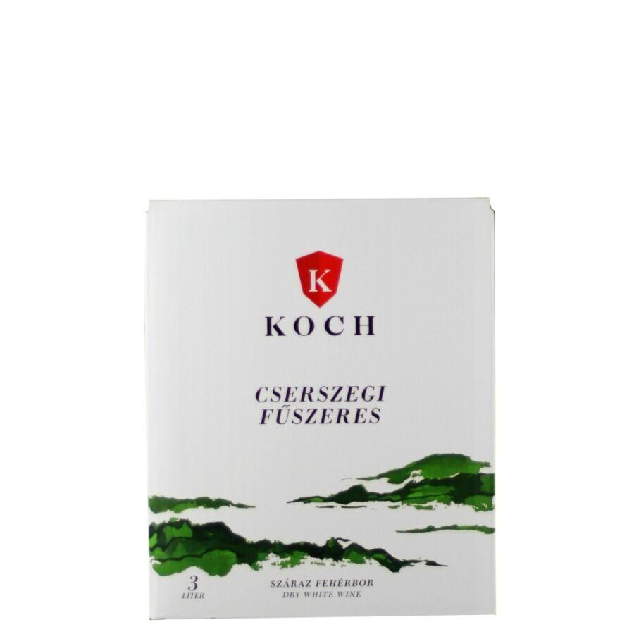 Koch Cserszegi Fűszeres 2020 (3l Bag-in-Box)