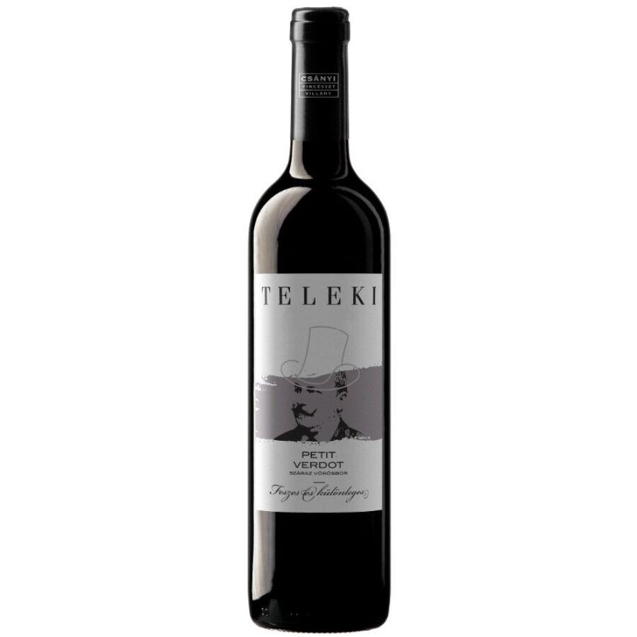 Csányi Teleki Petit Verdot 2015 (0,75l)