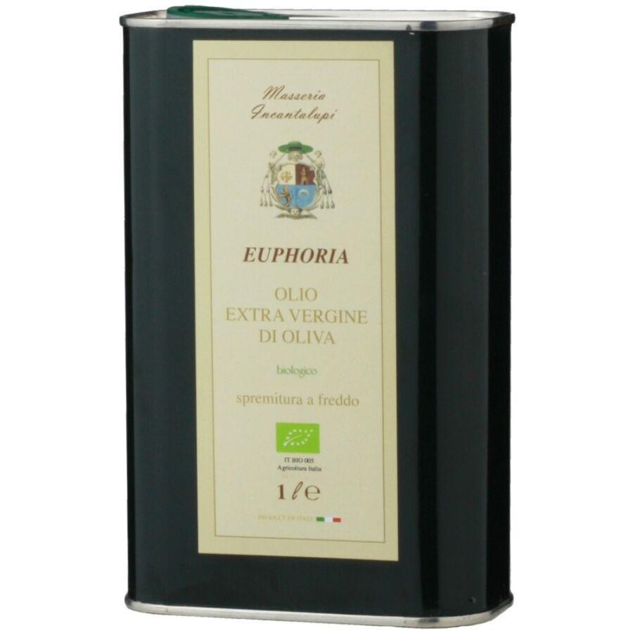 Incantalupi Euphoria Extra Szűz Olívaolaj (BIO) (1L) (1l)