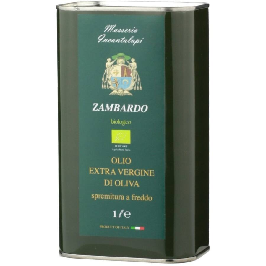 Incantalupi Zambardo Extra Szűz Olívaolaj (BIO) (1L) (1l)