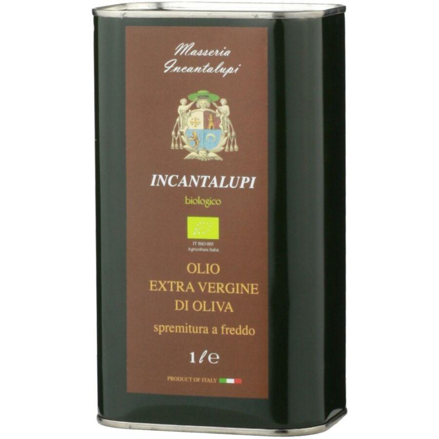Incantalupi Incantalupi Extra Szűz Oívaolaj (BIO) (1L)