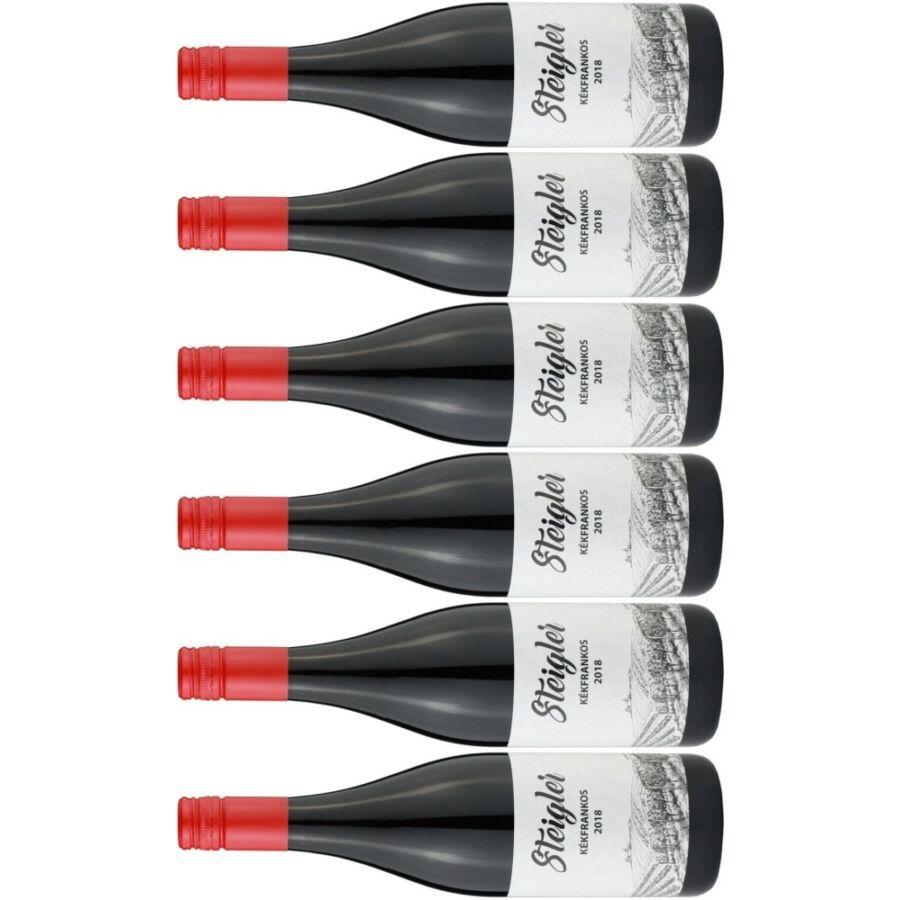 Steigler Kékfrankos (4 + 2 palack ajándék!) 2018 (4,5l)