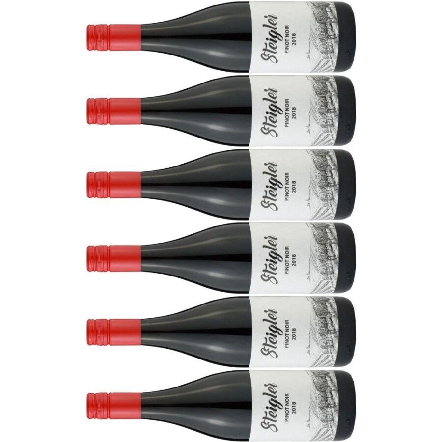 Steigler Pinot Noir (4 + 2 palack ajándék!) 2018 (4,5l)