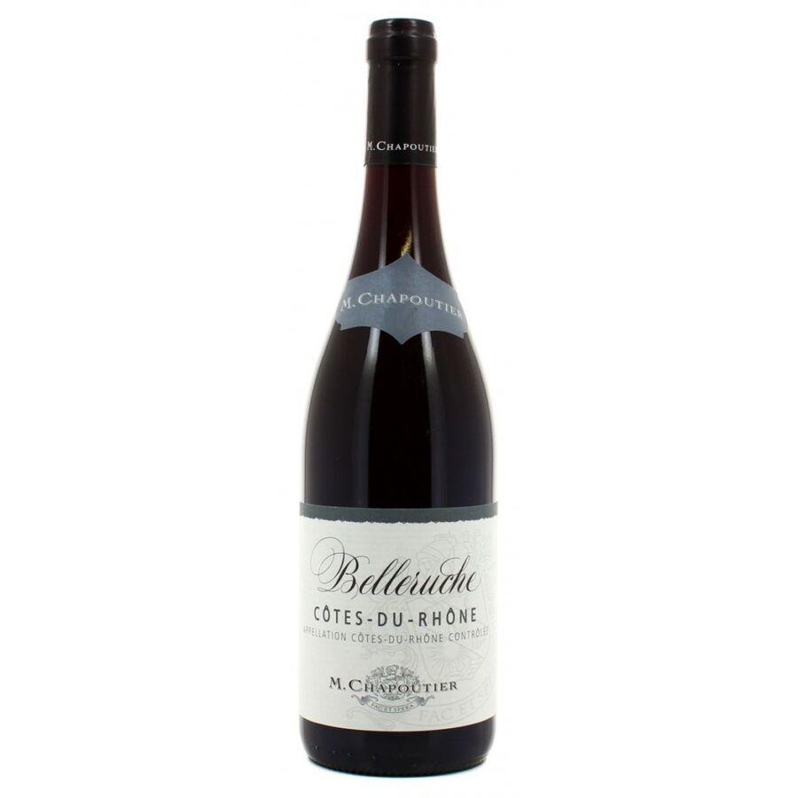 M.Chapoutier Belleruche Rouge Cotes du Rhone 2019 (0,75l)