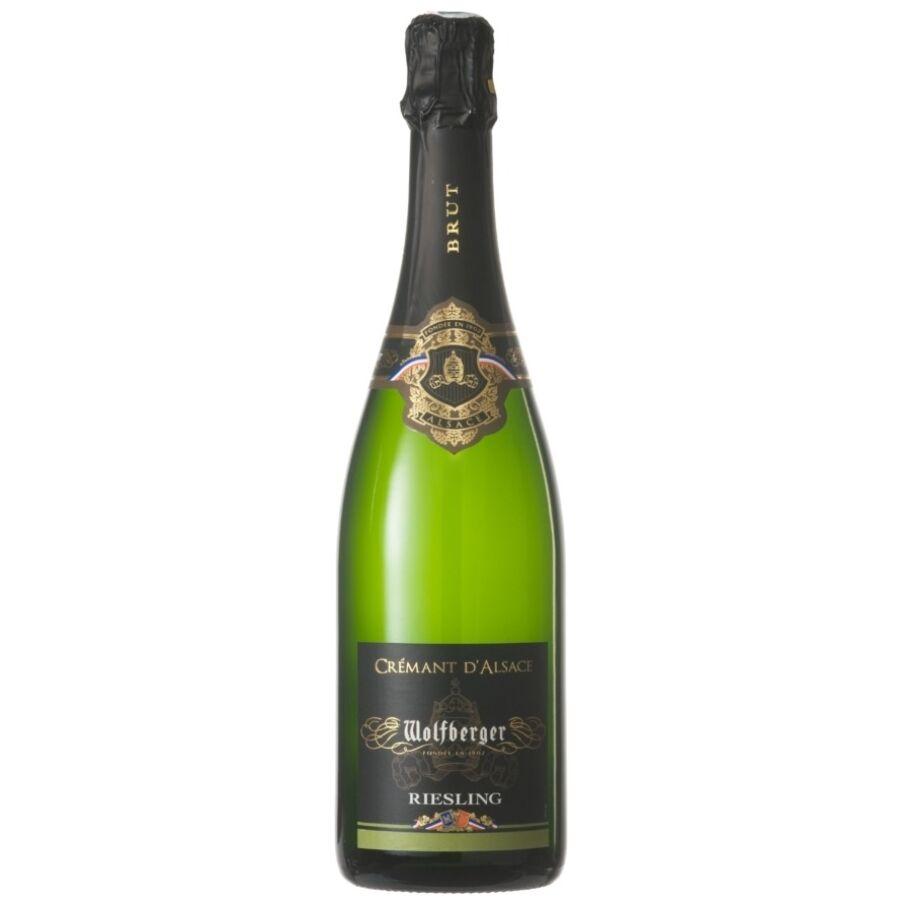 Wolfberger Crémant d'Alsace Riesling Brut  (0,75l)