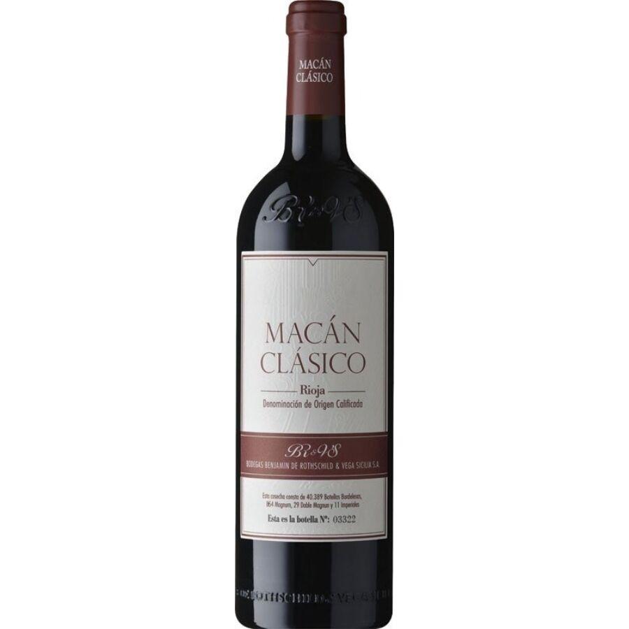 Bodegas Benjamin de Rothschild & Vega Sicilia Macan Classico 2017 (0,75l)