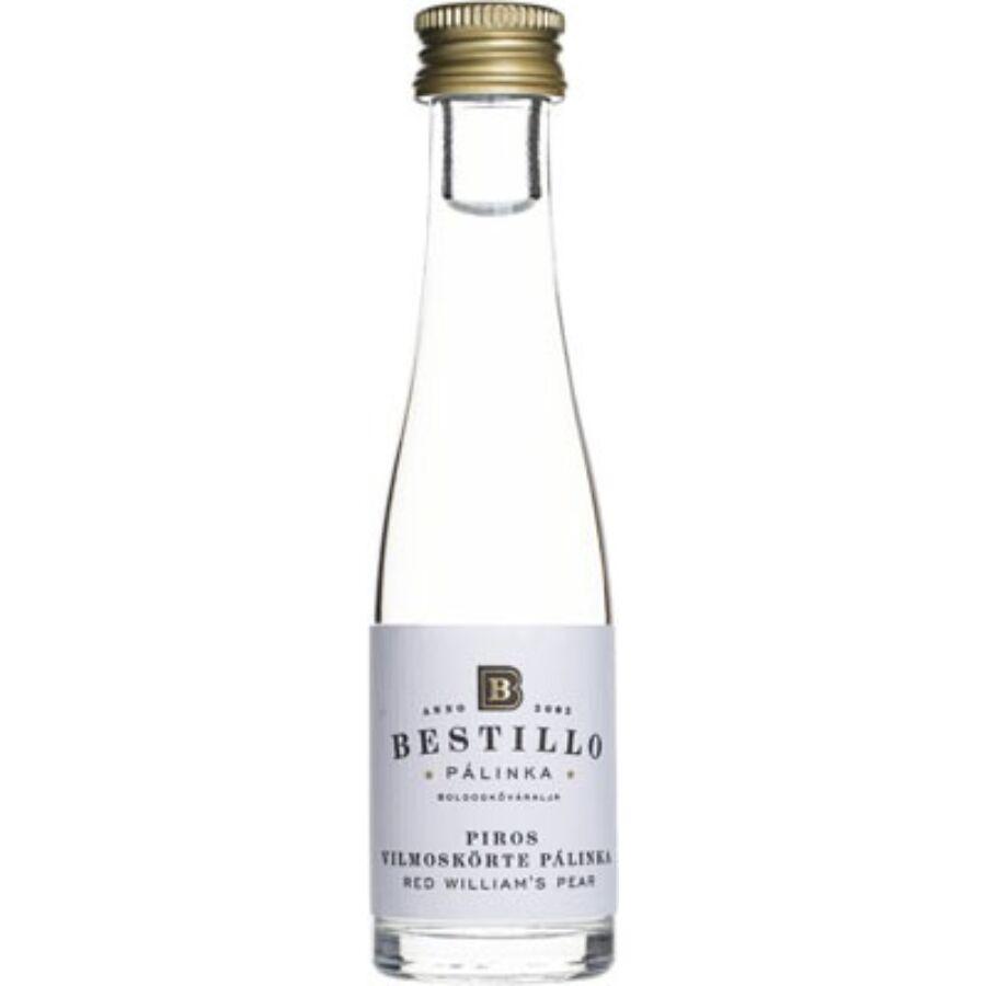 Bestillo Piros Vilmoskörte Pálinka (0,03 l) Mini