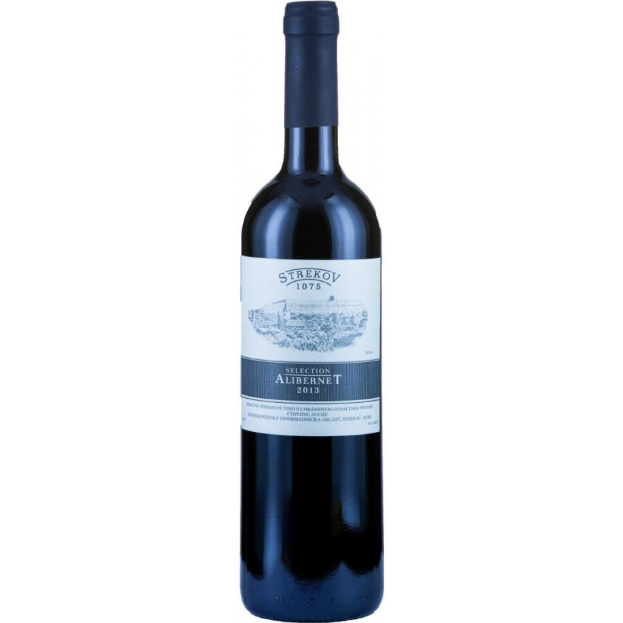 Strekov Alibernet Selection 2013 (0,75l)