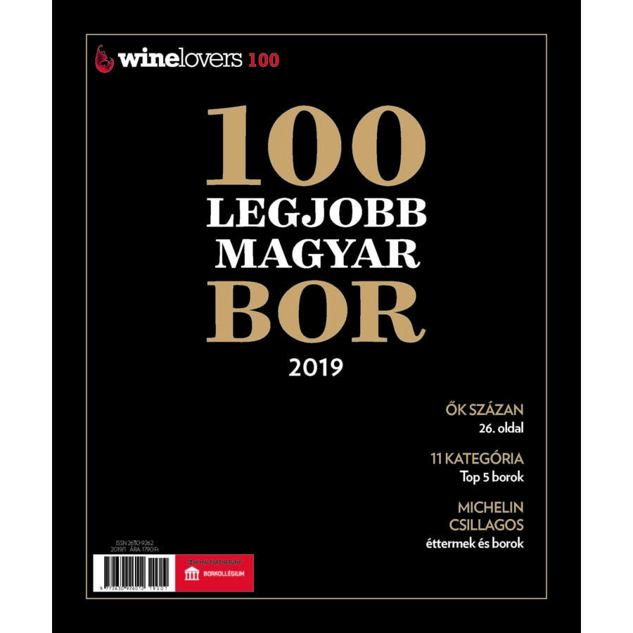 Winelovers 100 - A 100 legjobb magyar bor magazin 2019