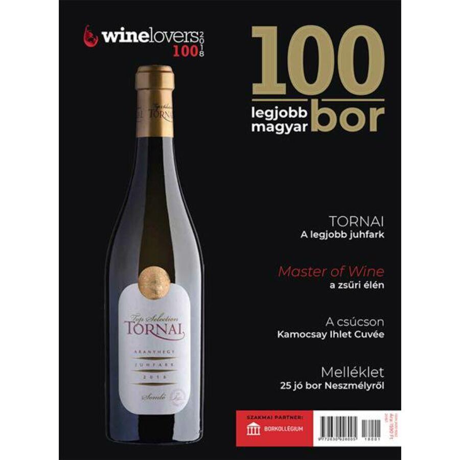 Winelovers 100 - A 100 legjobb magyar bor magazin 2018